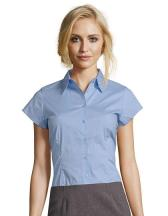 Women´s Stretch-Blouse Excess Short Sleeve