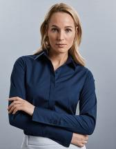 Ladies´ Long Sleeve Fitted Ultimate Stretch Shirt