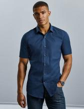 Men´s Short Sleeve Fitted Ultimate Stretch Shirt